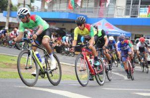 Franklin Archibold, ganador de la pasada vuelta a Chiriquí con la camiseta amarilla. Foto: EFE