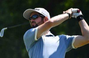 Michael Méndez ha participado en cuatro torneos desde que se reinició el golf profesional. Cortesía