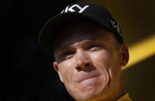 Chris Froome. Foto:EFE