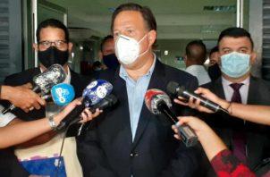 Juan Carlos Varela ahora es imputado por presunto blanqueo de capitales en el caso Odebrecht.