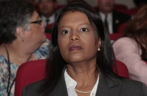 Zuleyka Moore, fiscal del Ministerio Público. Archivo