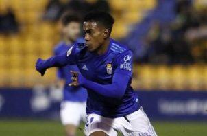 Édgar Yoel Bárcenas, jugador del Real Oviedo Foto:RealOviedo.