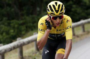 Egan Bernal, campeón del Tour Francia. Foto:EFE