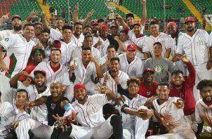 Los Astronautas representaron a Panamá en la Serie del Caribe pasada. Foto:Probeis
