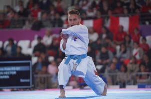 El karateca panameño Héctor Cención. Foto:COP