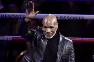 Mike Tyson. Foto:EFE