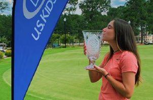 Carla Álvarez se impuso en Pinehurst N° 5, días antes se apuntó un triunfo, un top-10 y un top-20. Cortesía