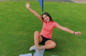 Carla Álvarez ganó el fin semana el World Teen Championship, en la cancha de Pinehurst N°5. Cortesía