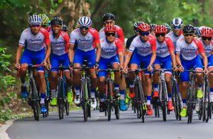 Selección de Panamá de ciclismo. Foto: Fepaci