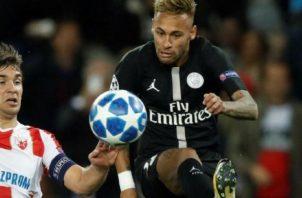 Neymar, jugador del PSG de Francia. Foto:EFE