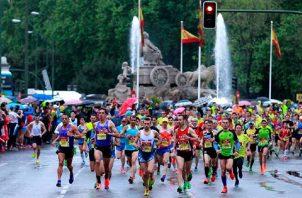 Maratón de Madrid Foto:EFE