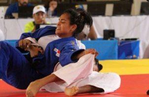 Kristine Jiménez judoca panameña. Foto: COP
