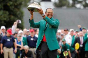 Tiger Woods, campeón del Masters de Augusta 2019. Foto:EFE