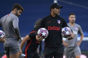 """Diego Pablo """"Cholo"""" Simeone técnico del Atlétco de Madrid. Foto:EFE"""