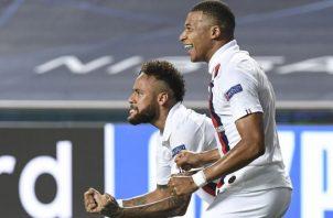 Neymar y Mbappé Foto:EFE