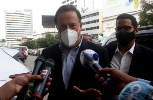 Abogados irán con la Policía Nacional para notificar a Juan Carlos Varela.