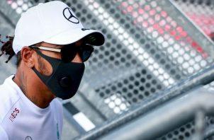 Lewis Hamilton es el líder actual de la F1. Foto:EFE