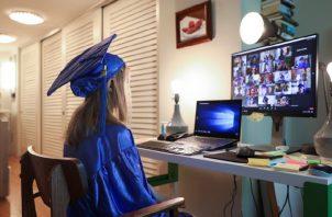 Graduaciones en el mundo han cambiado por la COVID-19. Foto: Milenio.com