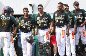 Jugadores de Bocas del Toro. Foto:Anayansi Gamez