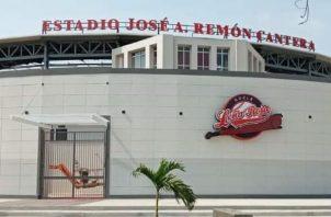 Los peloteros se encuentran en el estadio José Antonio Remón Cantera en Aguadulce. Foto:Pandeportes