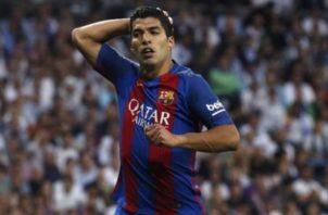 Suárez deja el Barcelona. Foto:EFE