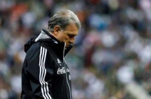 El  'Tata' Martino, entrenador de la selección mexicana. Foto:EFE