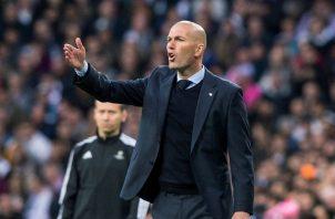 Zidane, técnico del Real Madrid. Foto:EFE