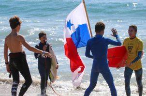 El surf ha tomado más auge en los últimos años en Panamá. Foto:Cortesía