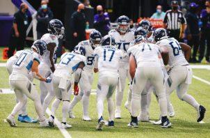 Jugadores de los Titans de Tennessee. Foto:Twitter