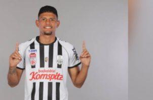 El defensa izquierdo chorrerano Andrés Andrade del Lask Linz. Foto:Instagram