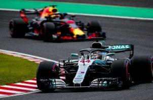 Lewis Hamilton se mantiene como líder de la temporada en la F1 Foto:EFE
