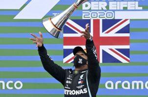 Hamilton: 'Nadie se puede igualar a Schumacher' Foto:EFE