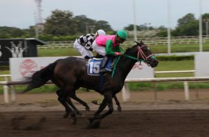 La accidentada sexta carrera de ayer fue ganada por Gift Of Friends sobre Princesa Primorosa. Erick Monroe