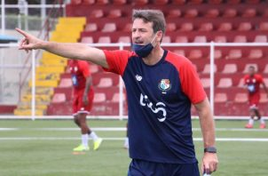 Thomas Christiansen, técnico de Panamá. Foto:Fepafut