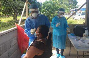 Las pruebas de hisopado han predominado durante la pandemia.