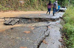Muchas áreas están incomunicadas todavía, debido a las inclemencias del huracán Eta.