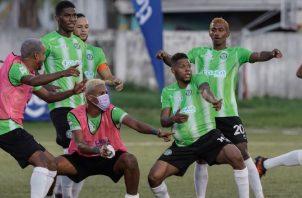 Jugadores de Alianza buscan su boleto directo a semifinales. Foto:LPF