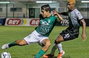 En el partido de la serie regular, Alianza y Costa del Este empataron 1-1. Foto:LPF