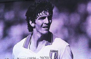 Paolo Rossi, campeón en España 1982. Foto:EFE