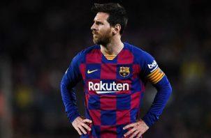Messi Foto:EFE
