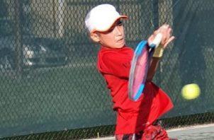 El tenista Chad Valdés Jr. Foto:EFE