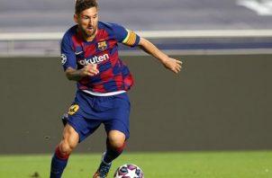 Barcelona no tendrá a su capitán, Leo Messi, ante el Eibar. Foto:EFE