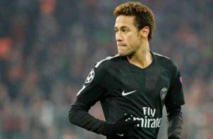 Neymar del PSG. Foto:EFE