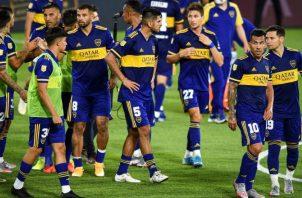 Jugadores del Boca Juniors. Foto:EFE