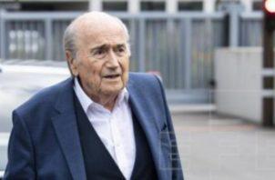 El suizo Joseph 'Sepp' Blatter. Foto:EFE