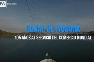El Canal de Panamá cumple 105 años de aniversario. Foto/Archivos