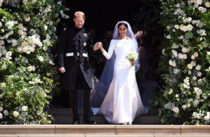 Vista del matrimonio de los duques de Sussex, el 19 de mayo de 2018. EFE