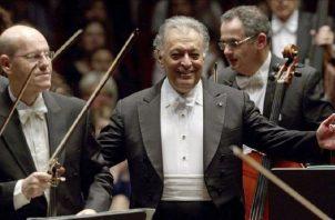 Maestro Zubin Mehta.  EFE