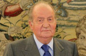 El rey emérito de España don Juan Carlos I de Borbón.