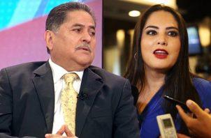 Zulay Rodríguez y Roberto Ábrego son los candidatos con mayor opción de presidir la Asamblea Nacional.